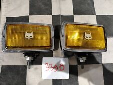 Paire anti brouillard MARCHAL 850 GT - NOS fog lamps - Alpine Ford Opel Cooper