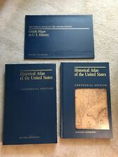 HISTORICAL ATLAS OF THE UNITED STATES CENTENNIAL ED w Porfolio of fold-out Maps