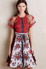 NWT Byron Lars Winter Rose Dress Size 00