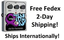 Nuevo Electro-Harmonix EHX XO Micro Q-Tron Envelope Filtro de efectos de Guitarra Pedal