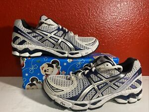 Asics Gel Kayano 17 support MISMATE Left size 9.5 Right size 10 no box wht/Navy