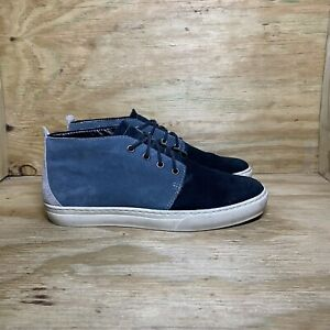 Timberland Adventure Cupsole Chukka Shoes (A18BK), Men's size 10.5, Blue Suede