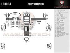 Fits Chrysler 300 2005-2007 NO Navigation Large Wood Dash Trim Kit