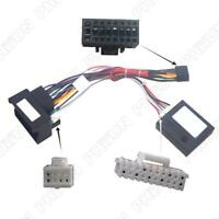 16-Pin Power Wiring Harness Adapter w/ Canbus For BMW E46 E53 E39 Stereo Radio