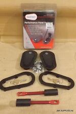 GENUINE AEROCATCH BONNET PINS - FLUSH (UNDER PANEL)- LOCKING - BLACK - T125-2100