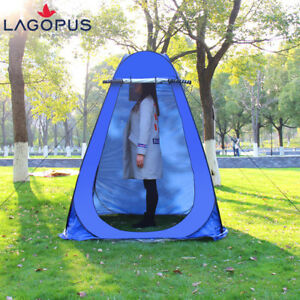 Portable Outdoor Auto Pop Up Camping Privacy Shower Toilet Tent Changing Room