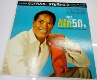 LP 33 Sam Cooke Hits Of The 50's RCA Victor LSP-2236 CANADA 1960