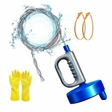 Thinvik 33ft10m Drain Snake Plumbing Drain Auger Sink Hair Clog Remover 33ft