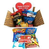 Birthday Care Package for College Students: Men, Women, Military with Snacks