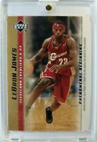 2003 03-04 Upper Deck Phenomenal Beginning Gold LeBron James Rookie RC #11, Cavs