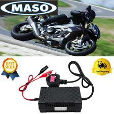 PWM Cargador de batería inteligente  de la motocicleta 12V Seguro y eficiente