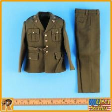 WWII US Army Officer A - Uniform Set (Metal Badges) -1/6 Scale Alert Line Figure