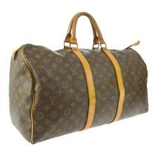 Louis Vuitton Discontinued Monogram Keepall 50 Boston Duffle Carry On MM 860657