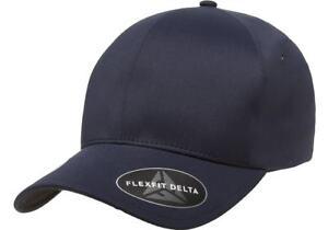 Flexfit® 180 Delta Carbon Cap Fitted Baseball Blank Plain Hat Ball Cap Flex Fit