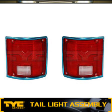 TYC 2pc Tail Light Lamp Assembly Left Right Set For 1978-1986 Chevrolet C10