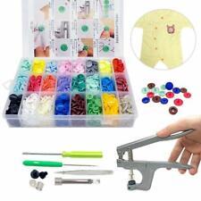 360 boutons pression T5 en plastique avec pinces pour couture et travaux