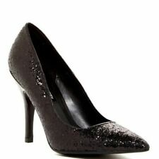 Chinese Laundry Womens Black Glitter Heels Pumps Pointed Toes party Sz 8 NIB
