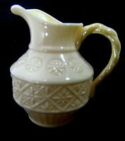 IRISH IRELAND HOME CHINA CREAMER BELLEEK VINTAGE 1965 6TH MARK CELTIC ...ISSUE