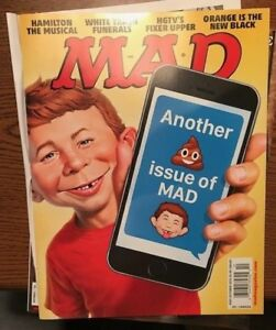 Mad Magazine October 2016 Another Poop Issue of Mad, Hamilton, White Trash NEW