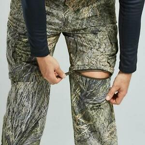 New Magellan Deluxe Convertible Cargo Camo Pants Hunting Fishing Size 32-34 M