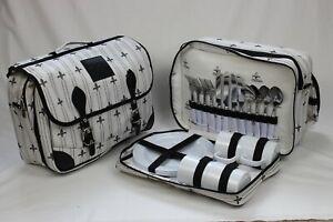 Chillars 4 person designer messenger picnic/cool bag,