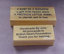 Personalised 4 line Stamp Polymer Stamp
