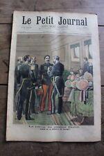Petit journal illustré N°131 1893 - Général Dodds - Propos Galants Roybet