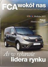 FCA Fiat Alfa Romeo Lancia 05 / 2015 magazine no catalogue brochure