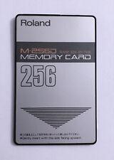 Roland M-256D Memory Card RAM 32K Bytes (2 of 2)
