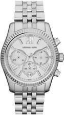 Relojes de pulsera baterías de plata para mujer