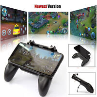 W10 Wireless Mobile Phone Game Controller Joystick Remote For PUBG