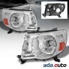2005 2006 2007 2008 2009 2010 2011 Toyota Tacoma Factory Style Chrome Headlights