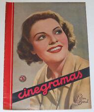 CINEGRAMAS #35 1935 Lilian Bond Shirley Temple Ana Sten Mae West Elissa Landi