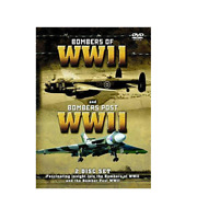 Bombers of World War 2 and Avro Vulcan Bombers etc.. Gift Idea RARE NEW DVD