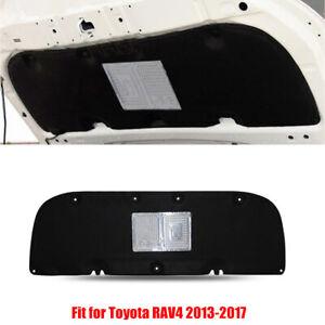 For Toyota RAV4 2013-17 Cotton Car Hood Engine Sound Insulation Pad Heat Shield