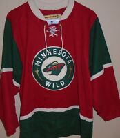 Koho Hockey Jersey adult Small Red Minnesota Wild Embroidered NHL
