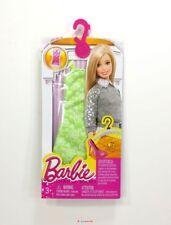 Barbie Fashion Clothes - Neon Green  Flower Designer Dress New in Pkg