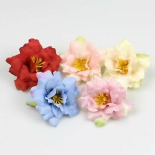 "10-100X 2""Silk Artificial Rose Flower Heads Fake Bouquet Floral Wedding DIY Decr"