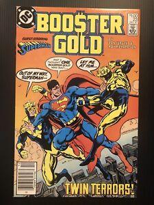 Booster Gold #23 (Dec 1987, DC) Twin Terrors! Superman