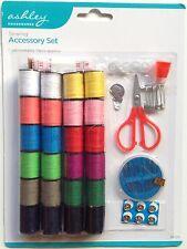71 Pezzi Cucito campeggio Travel Kit Set Pack-Ago Filo Bottoni Forbici NASTRO