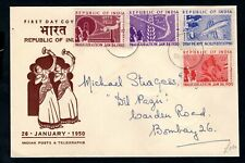 India - 1950 Republic of India Inauguration First Day Cover