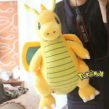 2017 NEW! Pokemon Go Dragonite Plush Soft Teddy Stuffed Dolls Kids Toy 55cm