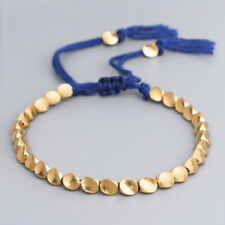 Luxurious Fashion 18k Gold Plated Chain Handmade Charm Bracelets Cuff Jewelry