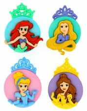 Jesse James Dress It Up Buttons ~ LICENSED - DISNEY PRINCESSES ~ Crafts