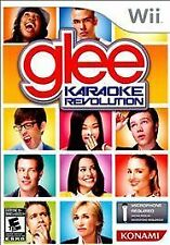Karaoke Revolution GLEE WII NEW CORY MONTEITH, LEAH MICHELE, DIANNA AGRON FAMILY