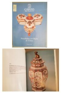 Christie's Monaco 1989  Chinese Porcelains & Works of Art  Nice colorful catalog
