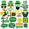 39pcs Funny St Patricks Day Irish Theme Party Photo Booth Selfie Props Lucky UK