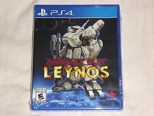 NEW Assault Suit Leynos Playstation 4 Game SEALED PS4 target earth NTSC - READ