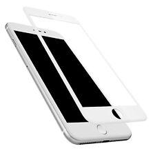 iPhone 7 Voll abdeckende 4D Panzerglas 9H Schutzfolie Display Weiß Curved
