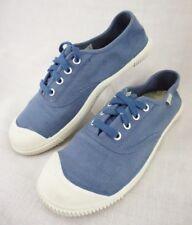 KEEN Coronado Canvas Blue Vegan Vulcanized Sneaker Lace-Up Shoes Women's 8.5